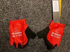 Radsport Rider Issue Summer Gloves Jumbo Visma Vuelta From Primoz Roglic.
