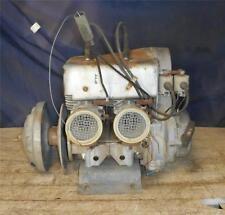 Vtg CCW Kyoritsu KEC-400 Twin, Dual Carb Snowmobile Engine Scorpion John Deere