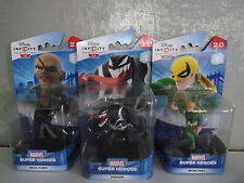 Disney Infinity 2.0 Venom, Iron Fist, Nick... (3 Figuren Spiderman) - NEU & OVP