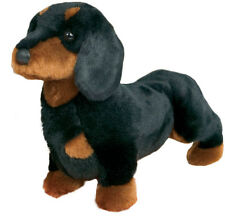"Douglas SPATS DACHSHUND Plush 14"" Long Weiner Dog Plush Stuffed Animal New"