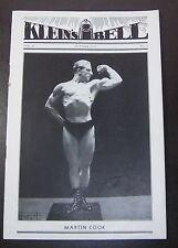Weightlifting/Bodybuilding.......KLEINS BELL..........Vol.2 #5......October 1932