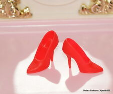 Repro My Favorite Barbie Reproduction Doll Vintage Style Red Pumps Heels Shoes