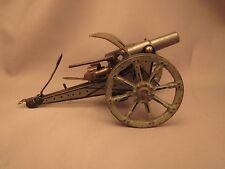 Marklin field cannon, 8042s/1 or 2, green carriage, shield