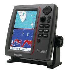 Sitex Svs-760Cf Gps Chart-Dual Frequency 600 Watt Fish Finder