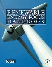 New: BENT SøRENSEN - Renewable Energy Focus Handbook - Hardcover