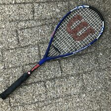 "Squash Racquet Wilson Titanium Ti.Power Racket 3 3/4"" Grip Sports Blue Activity"