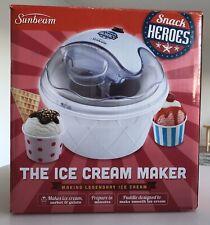 Sunbeam Snack Heroes The Ice Cream Machine