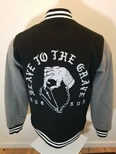 Ruckus Death Crew Varsity  jacket Size Slave to the Grave Medium