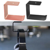 Simple Headphone Stand Hanger Hook Tape Under Desk Dual Headset Mount Holder