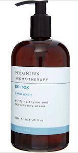 PECKSNIFFS Thyme + Elemi Detox Hand Wash 500ml