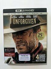Unforgiven Empty 4K Oop Slipcover Only (No discs & No digital) Very Good