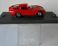 Alfa romeo giulia gtz TZ1 1/43 traditionnel verem diecast mint condition in case