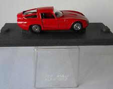 Alfa Romeo Giulia GTZ TZ1 1/43 Traditional Verem Diecast Mint Condition in Case