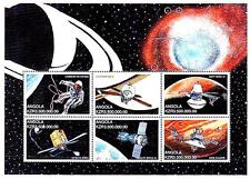 ANGOLA 1999 SPACE RESEARCH =APOLLO 11 M/S MNH ** FREE POSTAGE is POSSIBLE