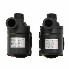 12V/24V Dc Solar Black Brushless Motor Water Circulation Submersibles Water Pump