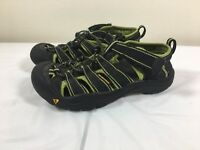 KEEN Sandals Size 3 Youth H2 Kids Sport Water Black Green Hiking Trail River