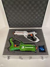 The Adventure Guys Deluxe Lazer Tag Gun Set with Designer Case - Laser Tag Gu...