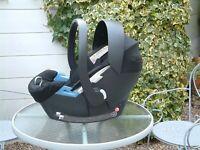 Cybex mamas&papas - Baby Safety Car Seat, 0 -13 Kilos + Sunshade and Soft LIner