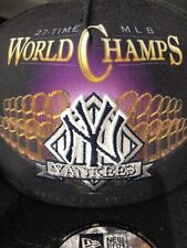 MLB New York Yankees World Series Champs Snapback Hat New Era Cap