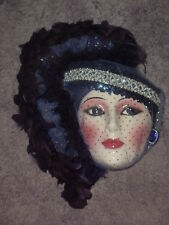 CLAY ART CERAMIC MASK...SOIREE....EXTREMELY RARE!!