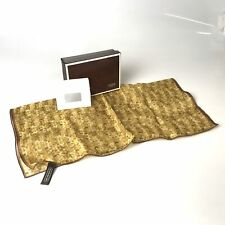 COACH scarf nylon × silk signature CA22608 Used 1718-10T63