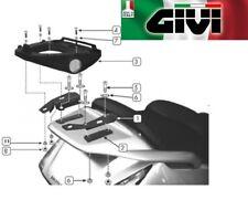Attaque arrière spécifique honda Argent Wing 600 / ABS 2003 2004 SR19 GIVI