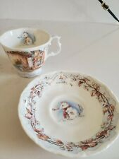 New ListingRoyal Doulton Brambly Hedge Winter Cup & Saucer