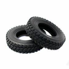 RC Hard Rubber Tires 4pc 22mm Type For Tamiya 1/14 Scale Tractor Truck