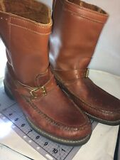 """New listing Gro-cord King """"B� Steerhide Boots Size 12 Usa"""