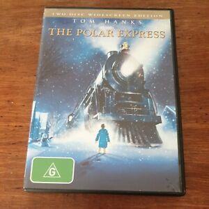 The Polar Express Tom Hanks DVD R4 Like New! FREE POST