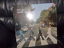 """THE BEATLES METAL """" ABBEY ROAD """" ALBUM SLEEVE WALL SIGN - PLAQUE APPLE CORPS."""