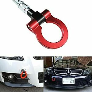 RED BUMPER TOW HOOK FOR MERCEDES CL C E SL S CLS ML CLA GTS S63 SL63 CLK GLK GLC