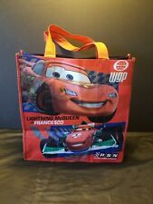 Disney Store Reusable Shopping Bag Tote Cars Lightning McQueen Vs Francesco