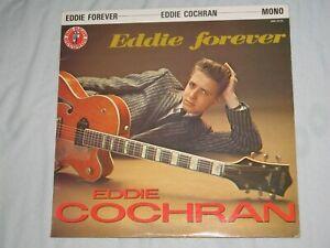 EDDIE FOREVER by EDDIE COCHRAN (1983) Rare Import 10 Inch Vinyl Album   BBR 0026