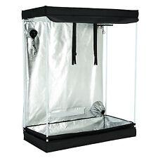 "48""x24""x60&#034 ; 600D Indoor Grow Tent Room Reflective Mylar Hydroponic Non Toxic Hut"