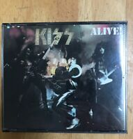 KISS Alive! 2CD Set US Rare BMG Music Club Issue Collectors Item See Pics No UPC