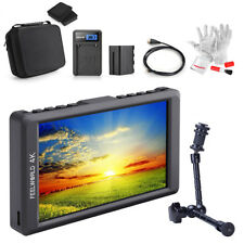 "FEELWORLD F55 5.5"" IPS HD 4K Camera Field Monitor+ Magic Arm+ Battery+ Rich Gift"