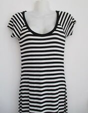 FOREVER NEW Lovely Soft Stretchy Striped Casual Maxi Dress Size 8, Perfect!