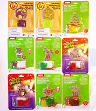 9 Makit & Bakit Stained Glass Halloween and Christmas Ornament Kits –Mini Frames
