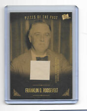 2017 Pieces of the Past President FDR Franklin Roosevelt Authentic Document Card