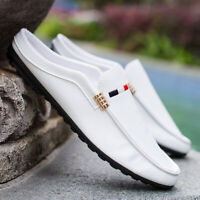 Men's Casual Loafers Slippers Lazy Driving Moccasins Soft Flat Shoes Slip On