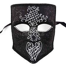 Bauta Mardi Gras Venetian Masquerade Mask for Men M1106 [Tribal Design]