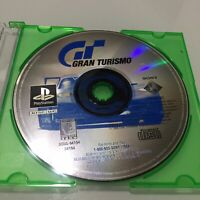 Gran Turismo Playstation 1 PS1 PSOne Game Tested Works DISC ONLY