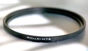 Rollei SL66 Rolleiflex 6008 6000 Bay VI 6 to 72mm Filter bayonet Adapter ring