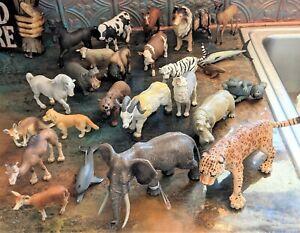Schleich, Safari, Animal Figurine Lot about 25 pieces