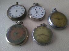 Vintage Pocket Watches X 5
