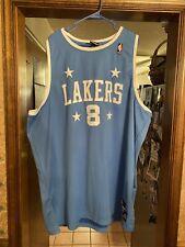 Reebok Lakers Authentic Kobe Hardwood Classics Blue Mvp Ftb Prelude Jersey