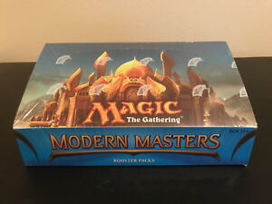 2013 Modern Masters Booster Box! Sealed! Magic The Gathering MTG! FREE SHIPPING!