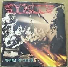 "Y&T-Summertime Girls-7"" Vinyl 45rpm Record-AM-AM264-1985-PROMO"