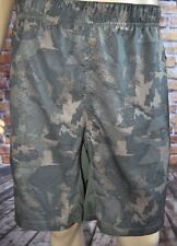 New The North Face Versitas Printed Camouflage Dual Shorts Train Sz 2XL
